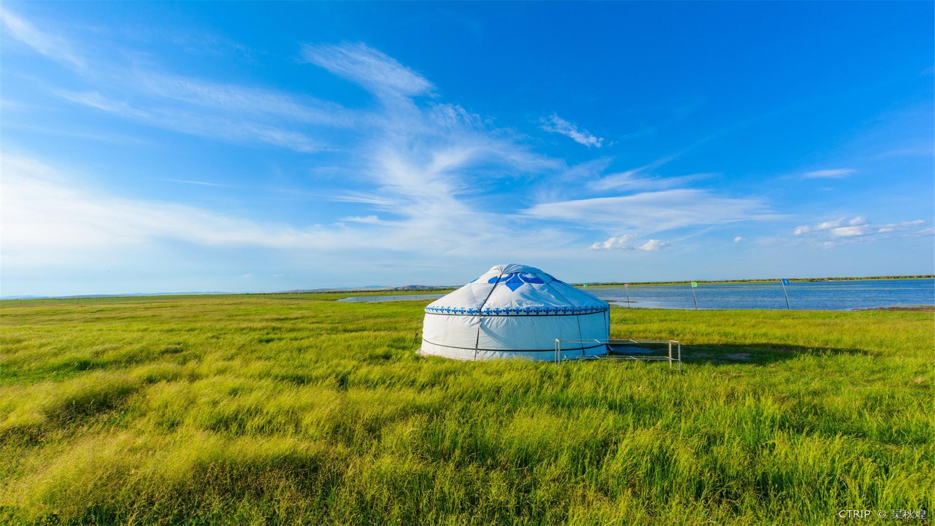蒙古风景动态图片